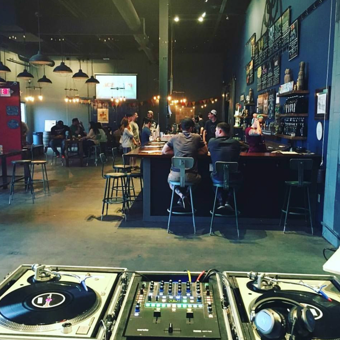 DJ J-Wall returns to Night Shift Brewery