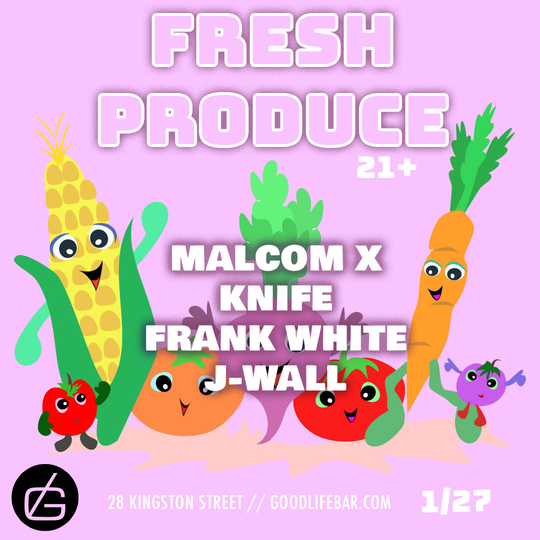 January Gigs: Fresh Produce at Good Life with Frank White
